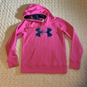 Under Armour Storm Cold Gear Hoodie Pink Small